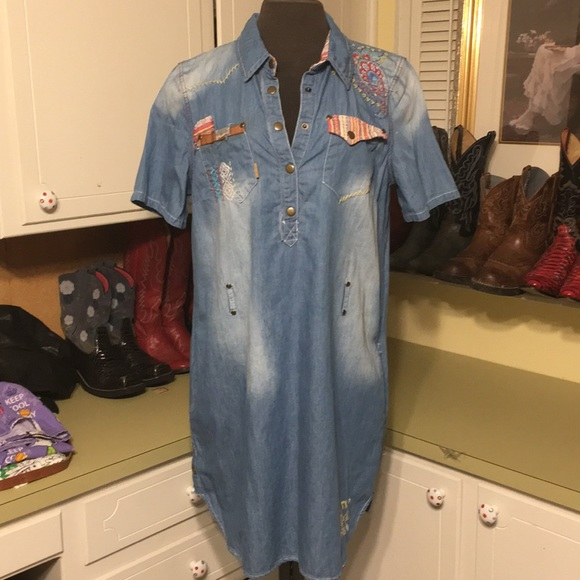 Double D Ranch Dresses & Skirts - Double D Ranch Denim Dress (no belt)